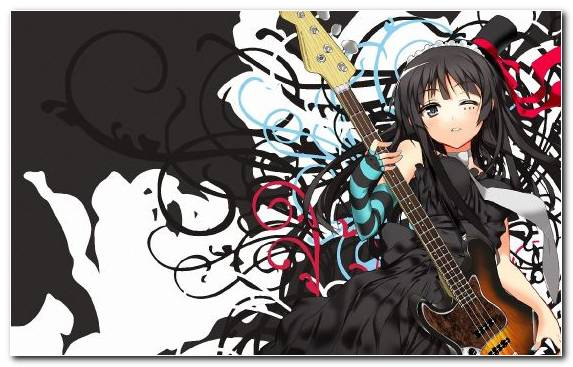 Image Yui Hirasawa Guitar Creative Arts Fictional Character String Instrument