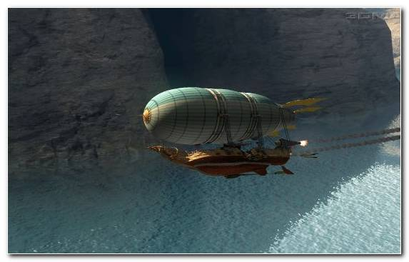 Image Zeppelin Airship Rigid Airship Aviation Airplane