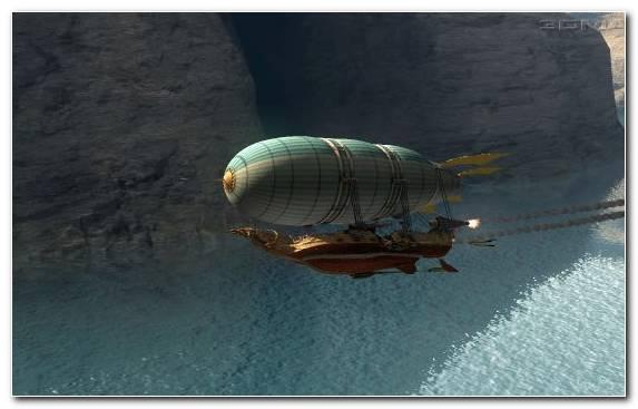 Image Zeppelin Airship Rigid Airship Aviation Airplane