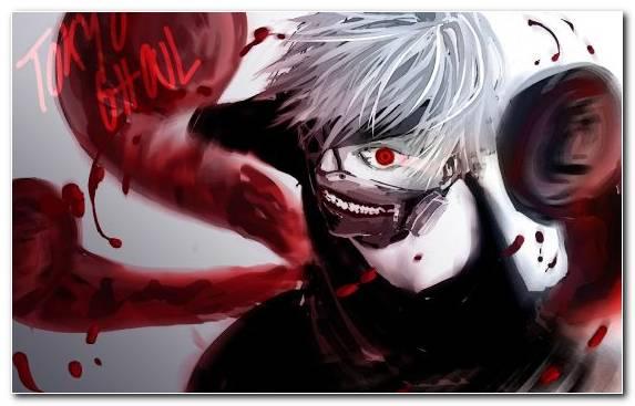 Image Zombie Fictional Character Red Manga Ken Kaneki