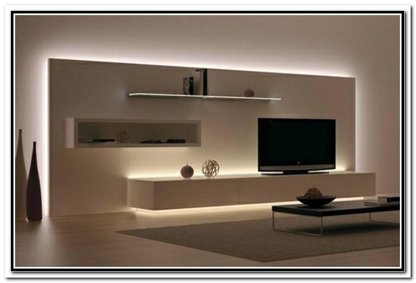 Indirekte Beleuchtung Fernseher
