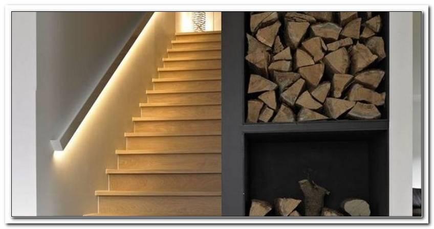 Indirekte Beleuchtung Treppe