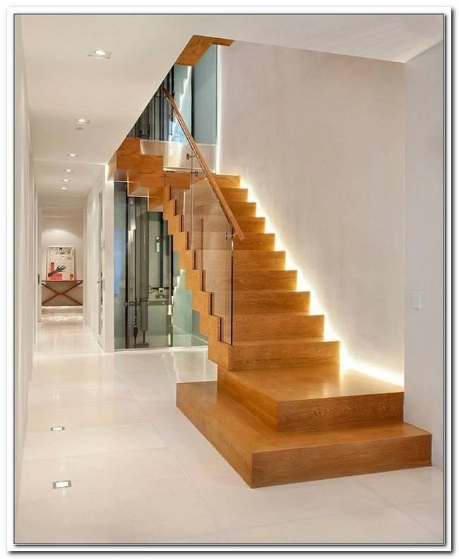 Indirekte Beleuchtung Treppenaufgang