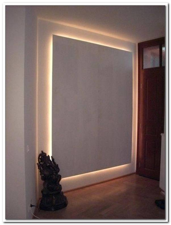Indirekte Beleuchtung Wand Bauen