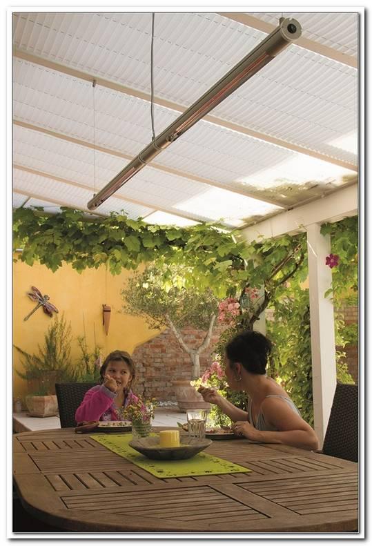 Infrarotheizung Decke Terrasse
