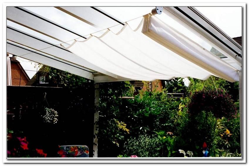Innenliegender Sonnenschutz Terrassen?Berdachung