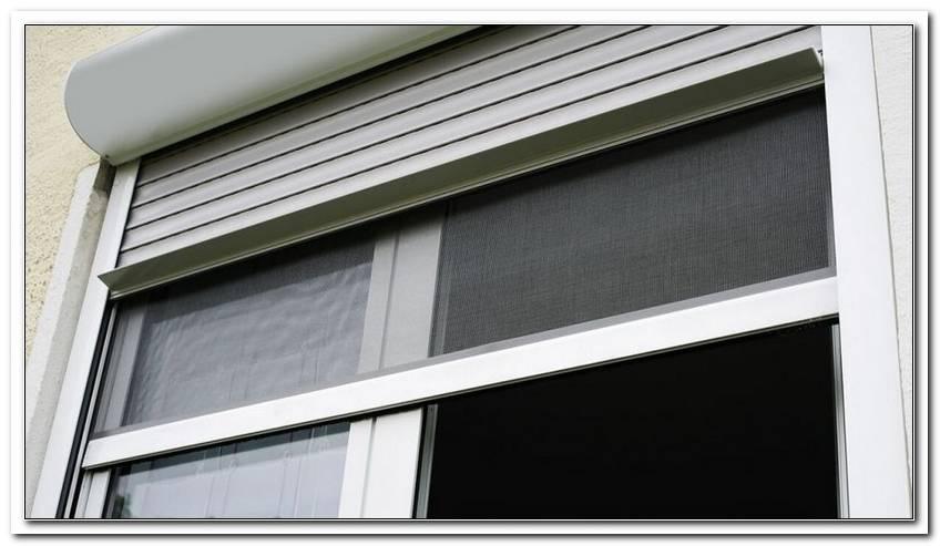 Insektenschutz F?R Fenster Mit Vorbaurolladen