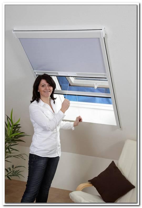 Insektenschutz Rollo Fenster Kombirollo Fliegengitter Sonnenschutz Dachfenster