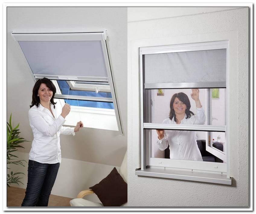 Insektenschutz Sonnenschutz Rollo Fenster Kombirollo