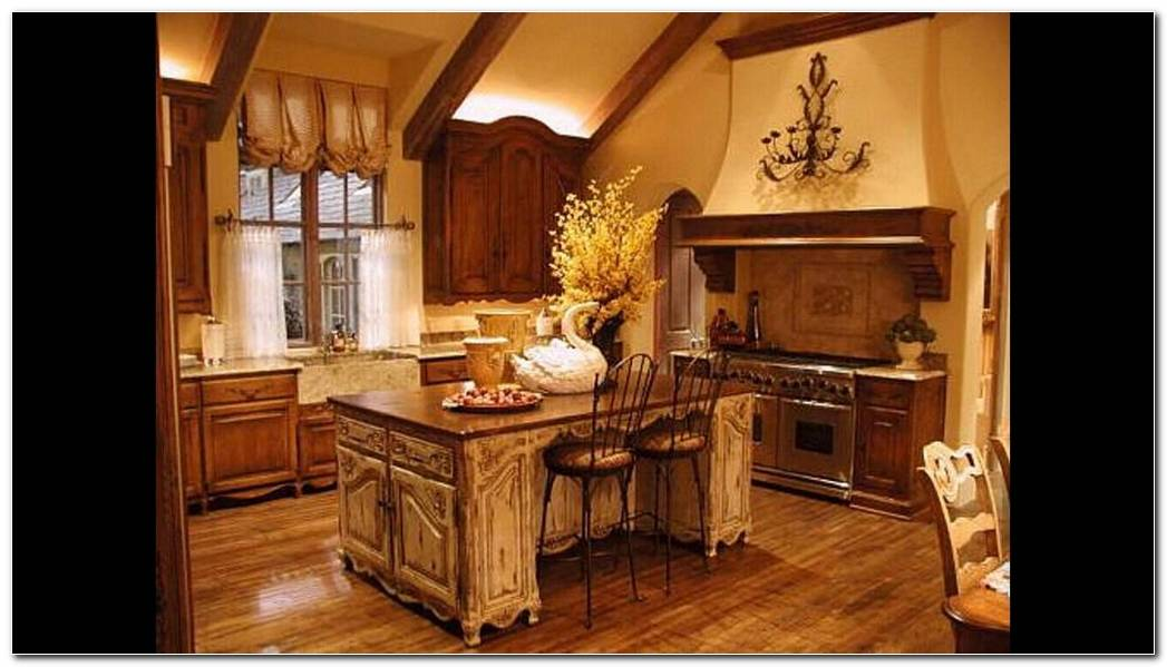Interior Cocina Rustica
