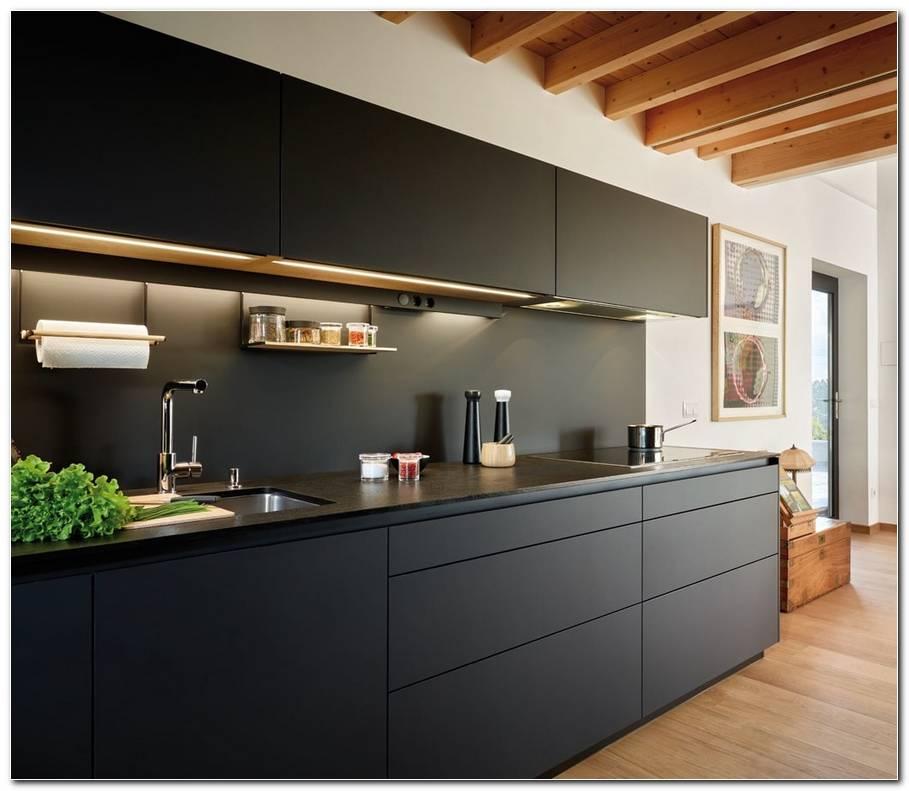 Interior De Cocina A Le A