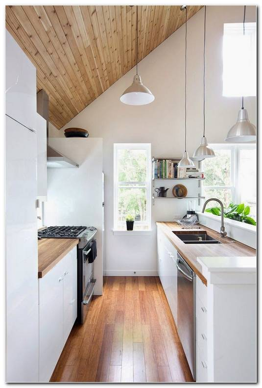 Interior De Cocinas Peque As