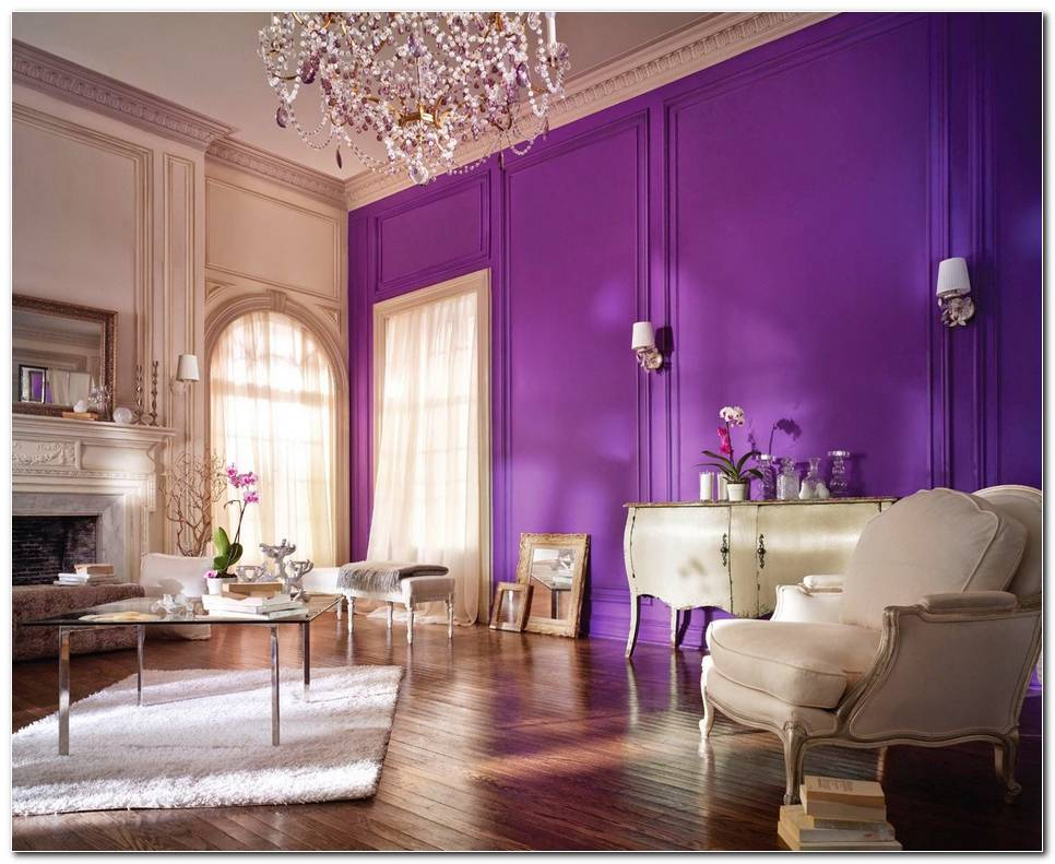 Interiores Color Morado
