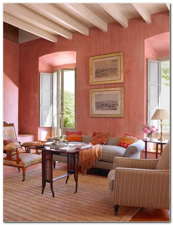 Interiores Color Salmon