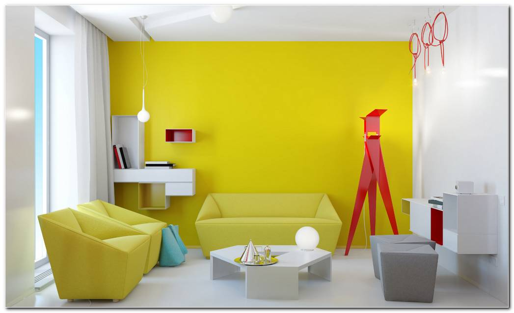 Interiores De Casas Color Amarillo