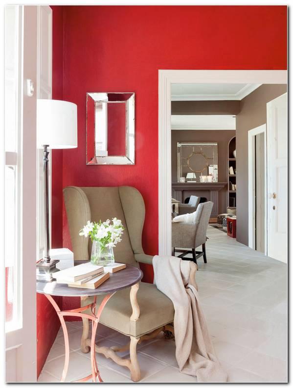 Interiores De Color Rojo