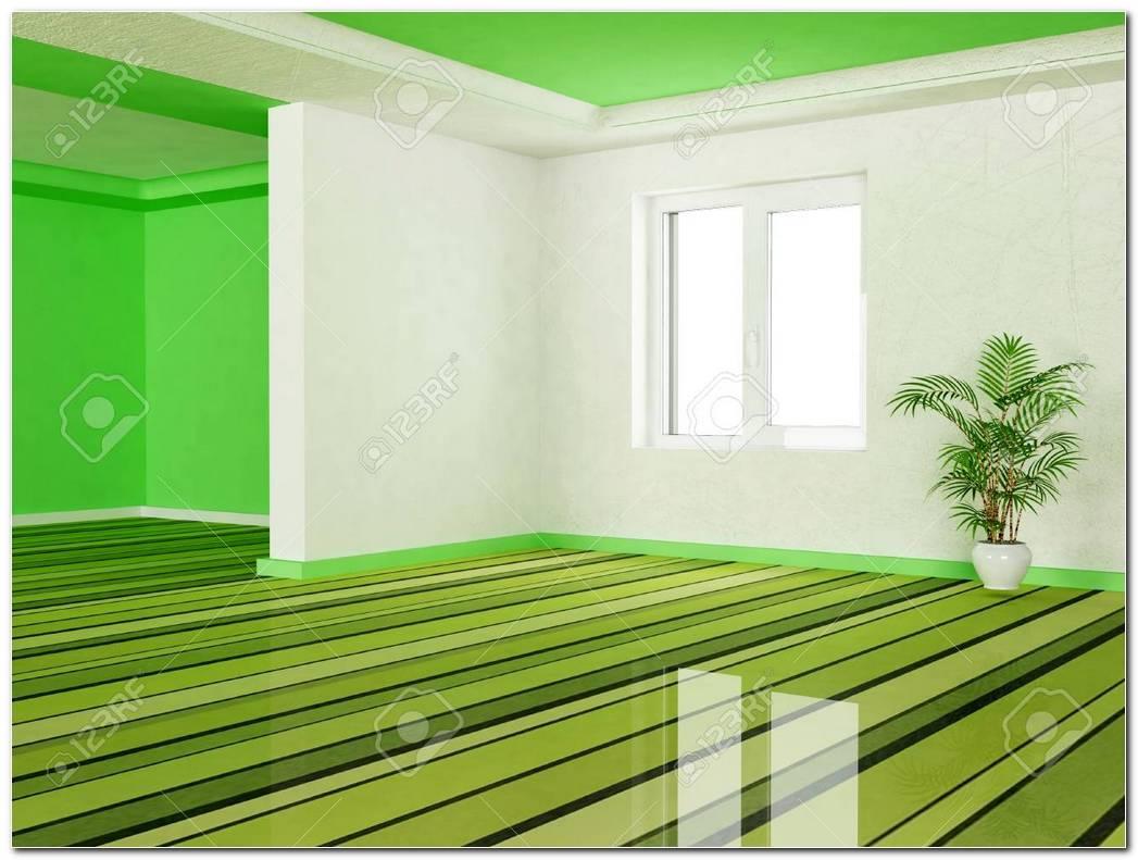 Interiores En Color Verde