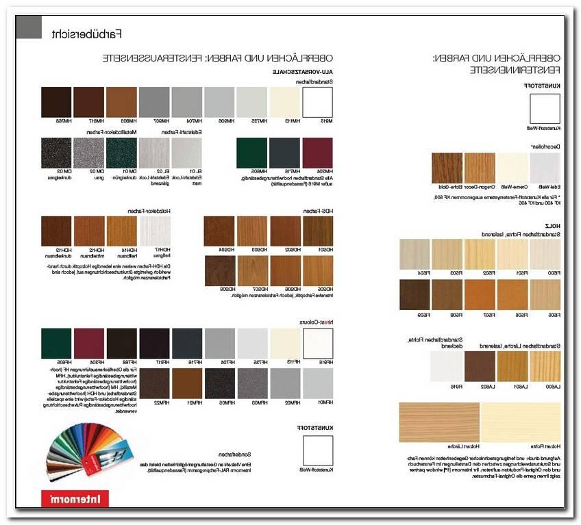 Internorm Holz Alu Fenster Farben