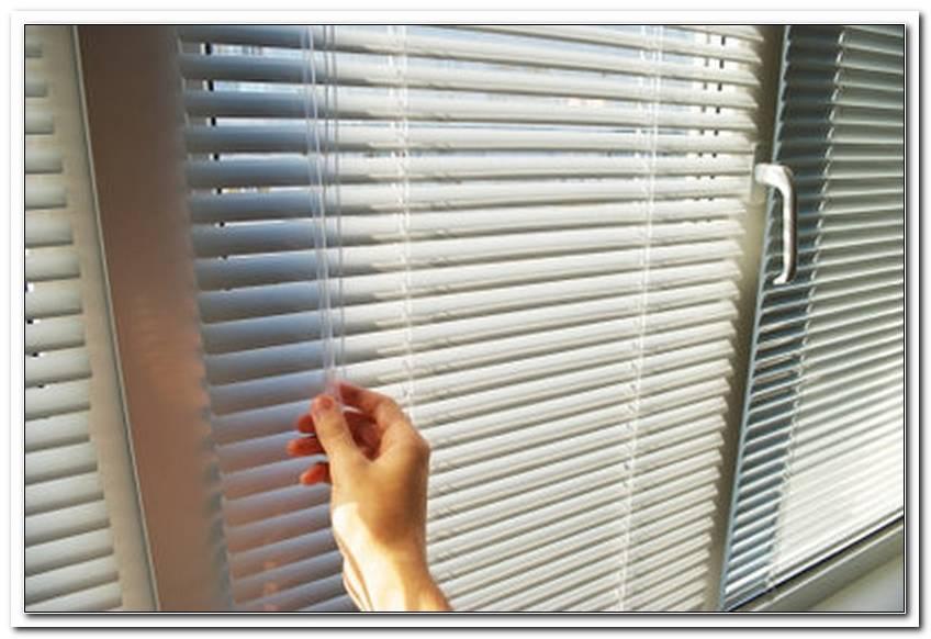 Jalousie Befestigung Am Fenster