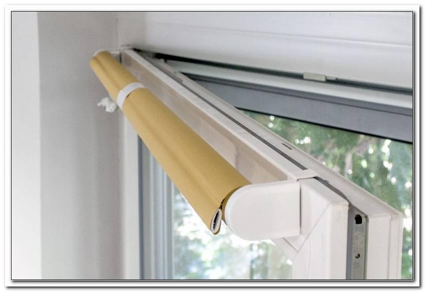 Jalousie Befestigung Am Fensterrahmen