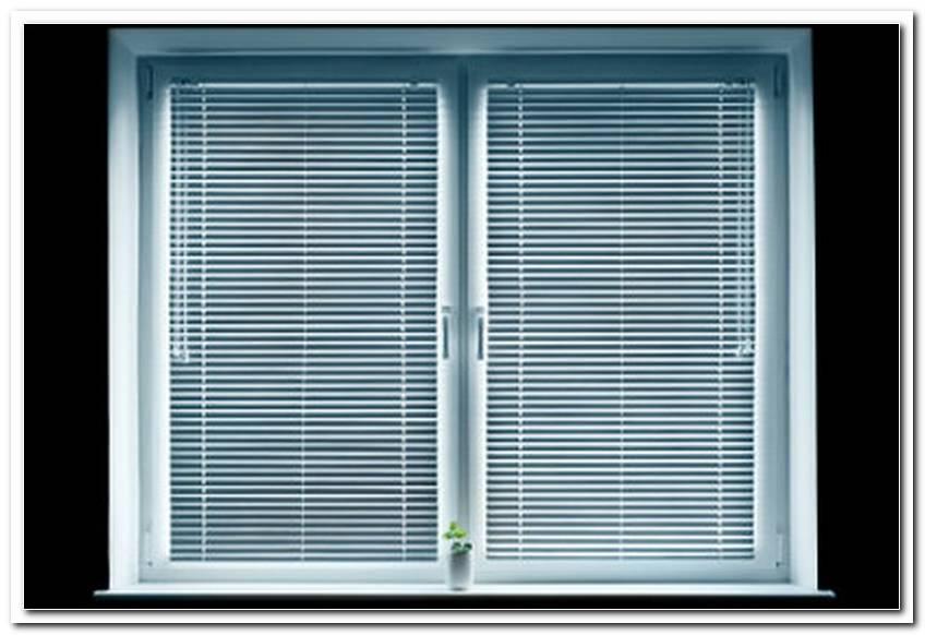 Jalousien Im Fensterrahmen Befestigen