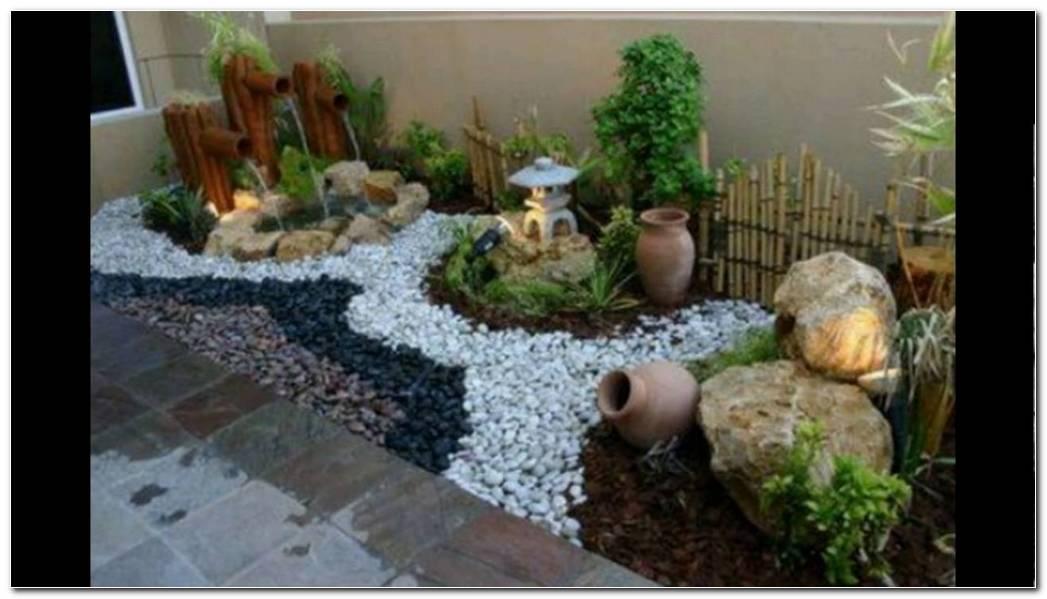 Jardin Minimalista Con Piedras