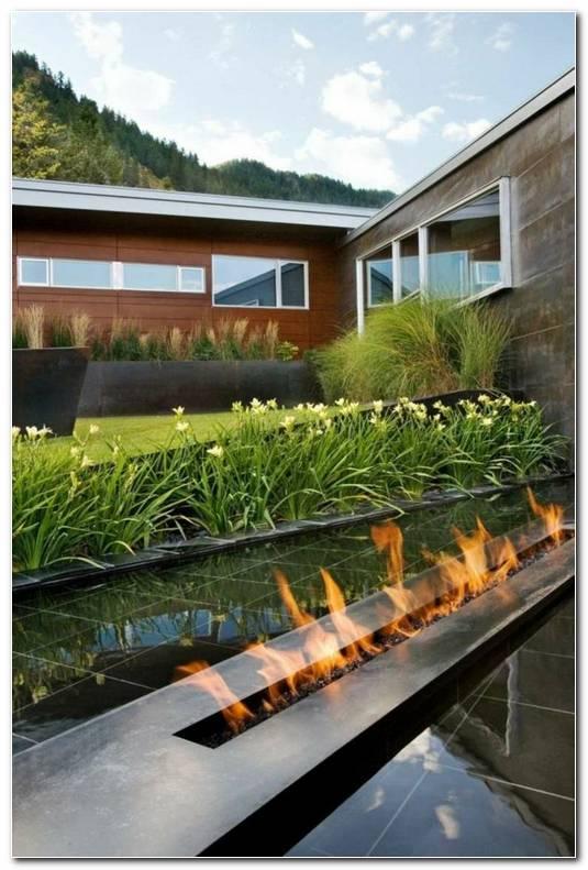 Jardin Moderno Minimalista Peque O