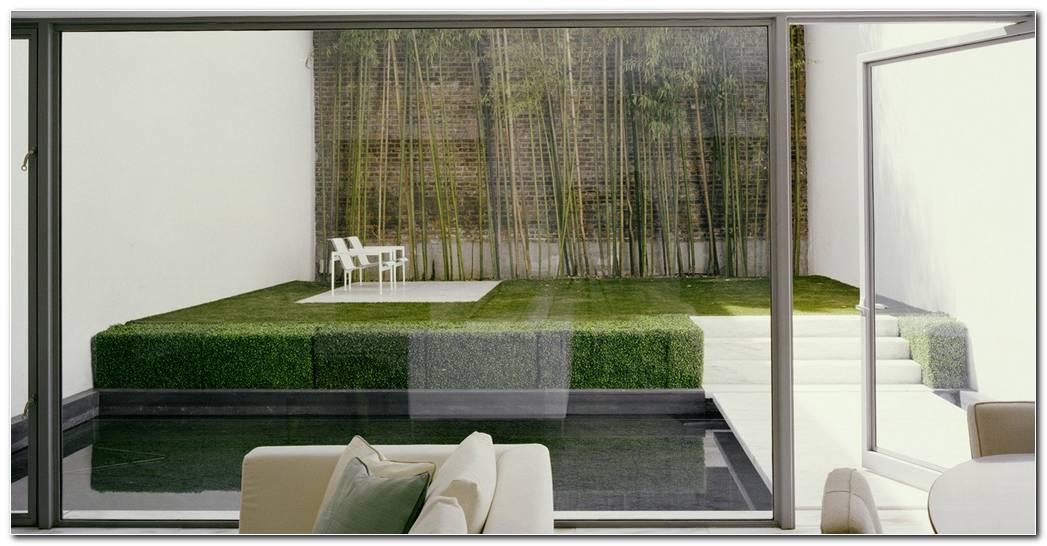 Jardines Interiores Minimalistas En Edificios