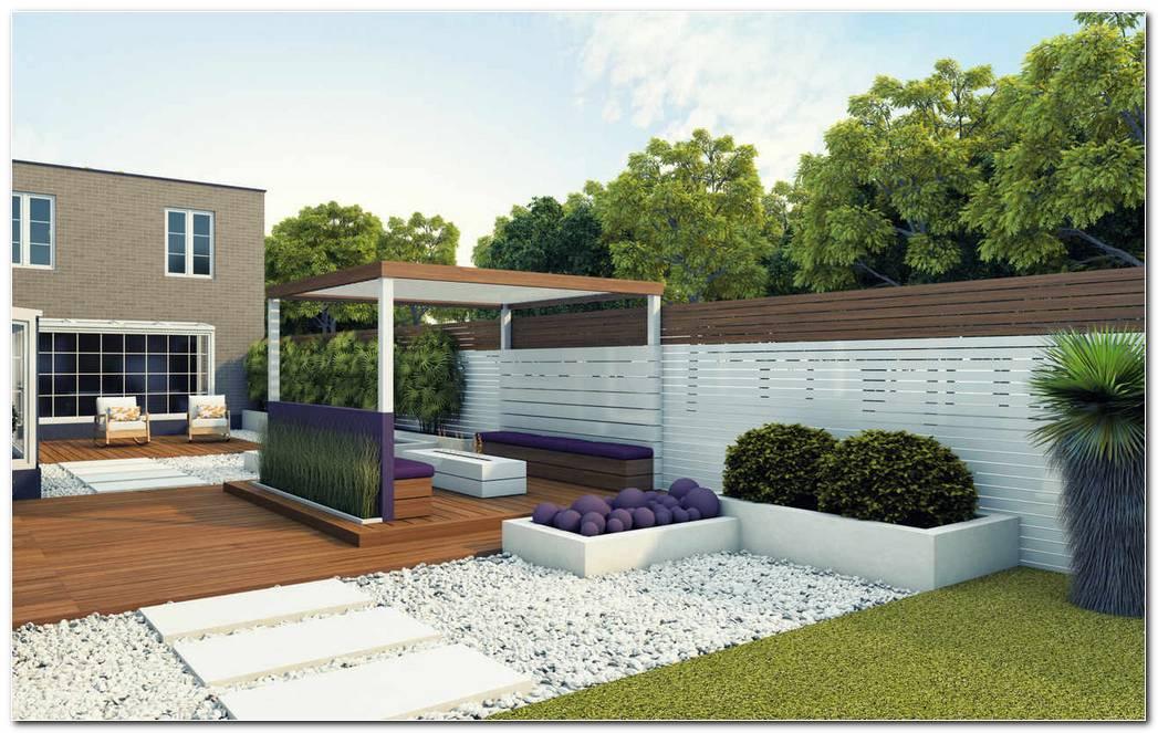 Jardines Minimalista De Estadounidense