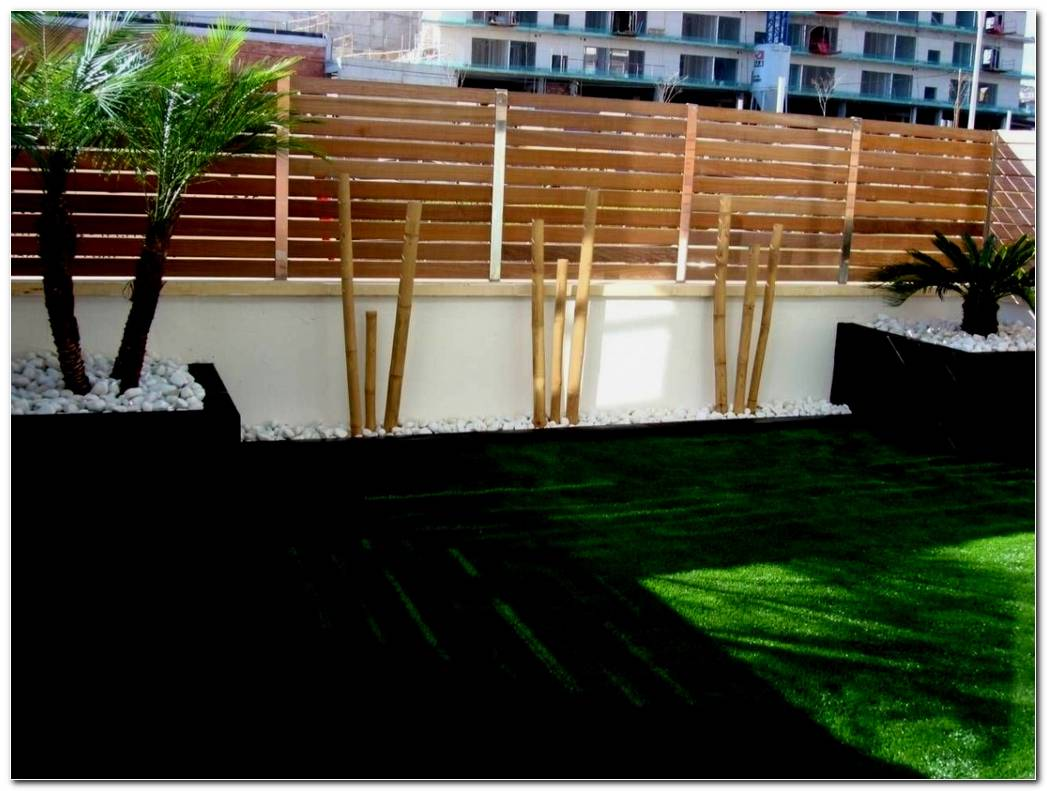 Jardines Minimalistas Con Bambu