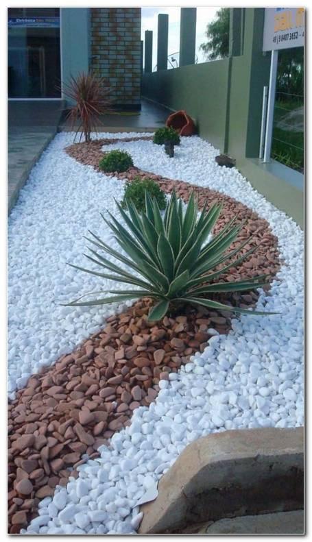 Jardines Con Piedras De Estilo Por Francisco Jardinagem