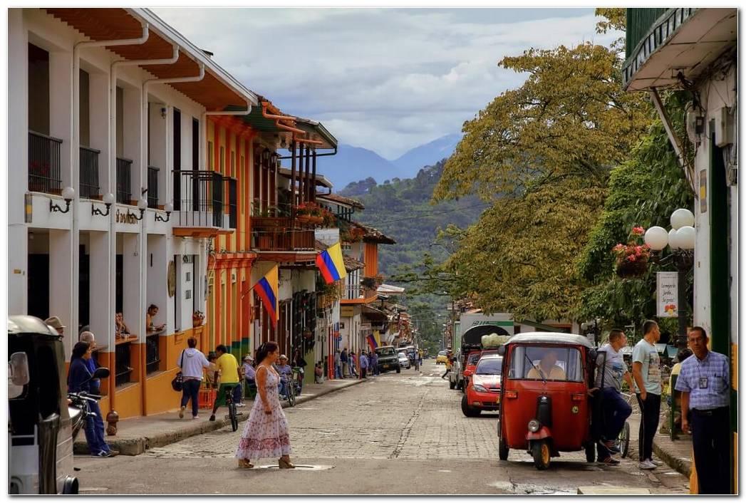 Jard?n Antioquia Colombia Streets