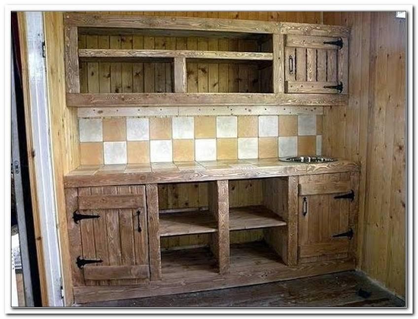 K?Che Eigenbau Holz