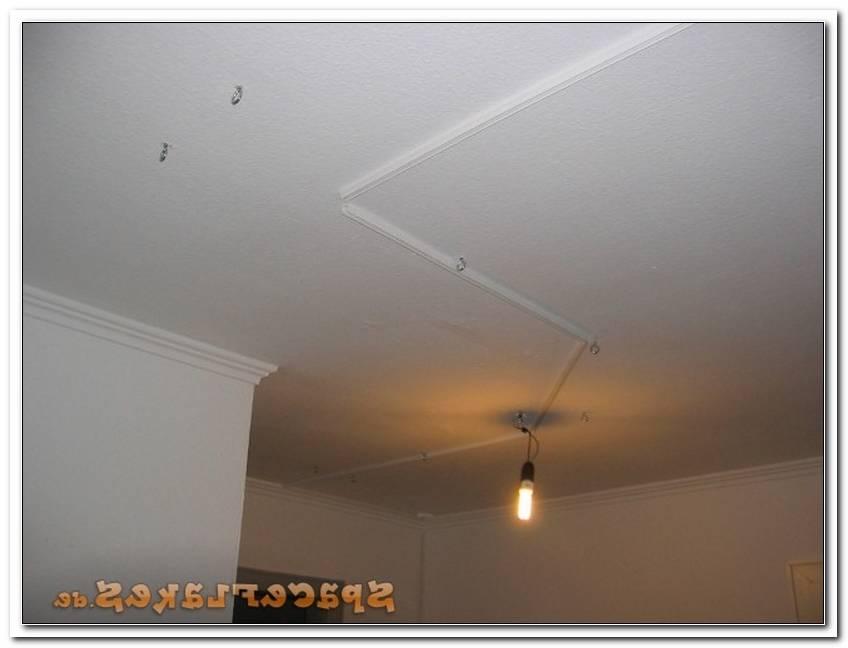 Kabel F?R Lampe An Decke Verlegen
