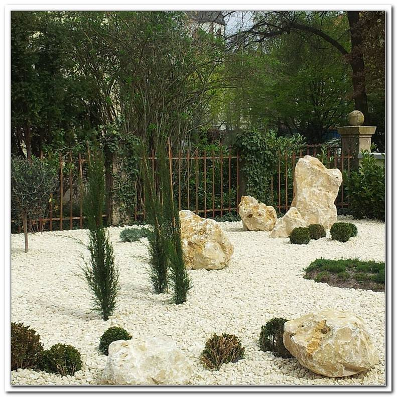 Kalkstein Garten