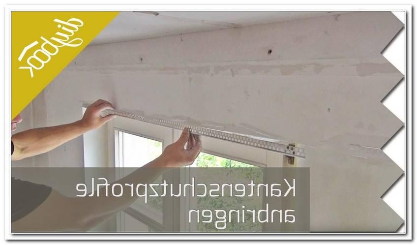 Kantenschutz Fenster Anbringen