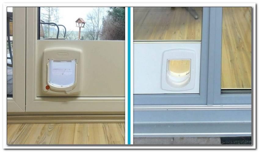Katzenklappe In Fenster Einbauen Anleitung