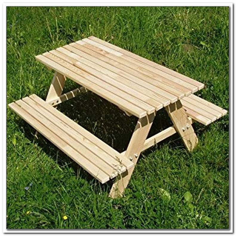 Kindersitzgarnitur Garten Holz