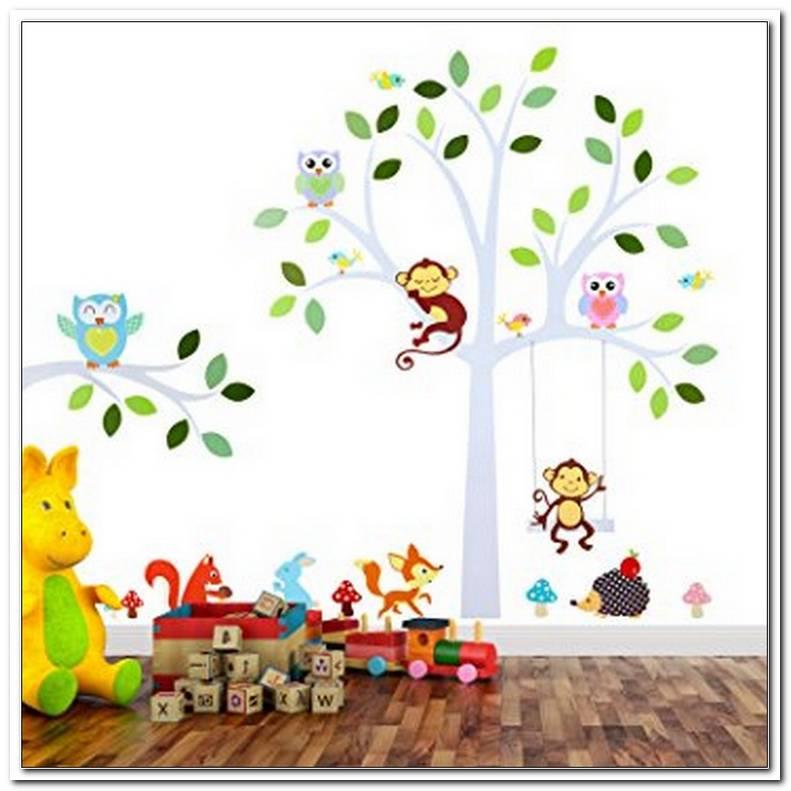 Klebebilder Wand Kinderzimmer
