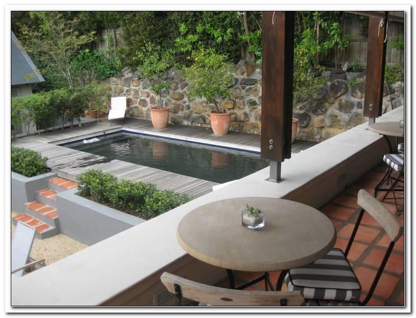 Kleiner Pool F?R Terrasse