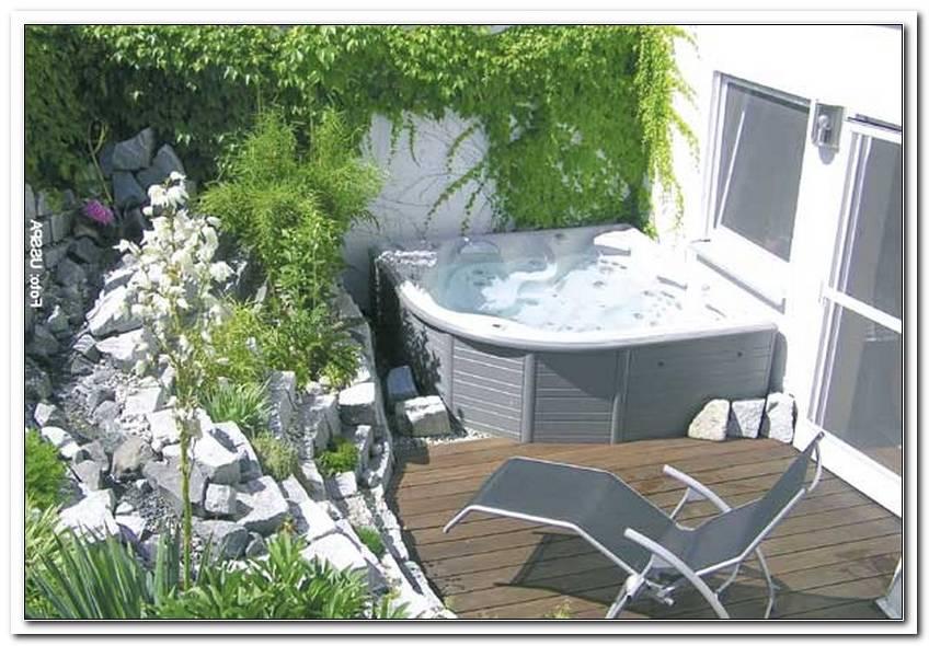 Kleiner Whirlpool F?R Terrasse
