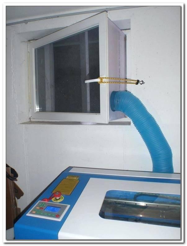 Klimaanlage Schlauch Durchs Fenster