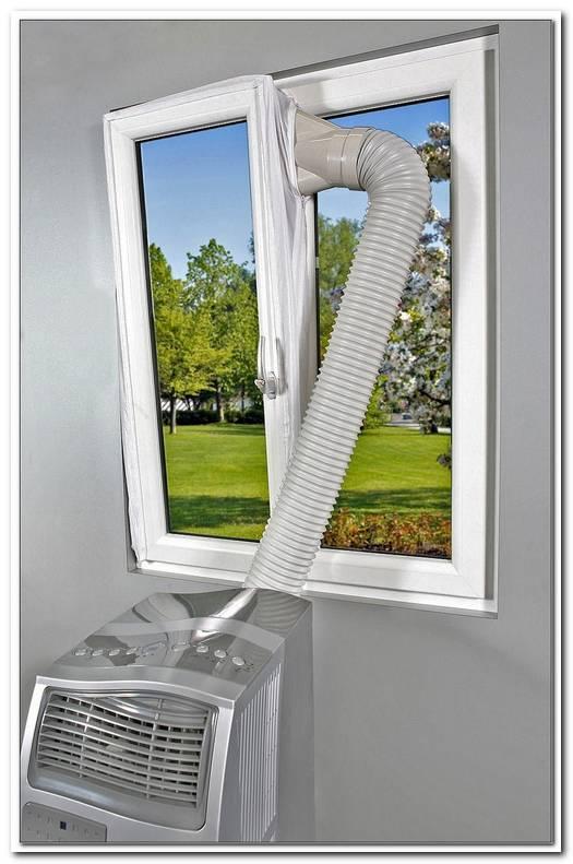 Klimaanlage Schlauch Gekipptes Fenster