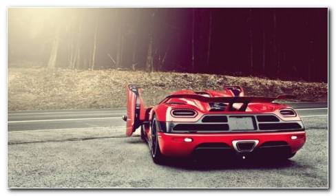 Koenigsegg Agera R Red HD Wallpaper