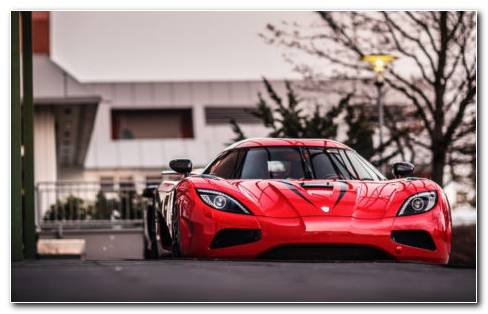 Koenigsegg Agera Red HD Wallpaper