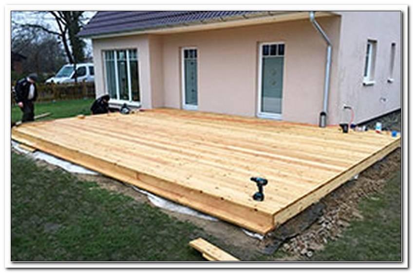 Kosten F?R Den Bau Einer Terrasse