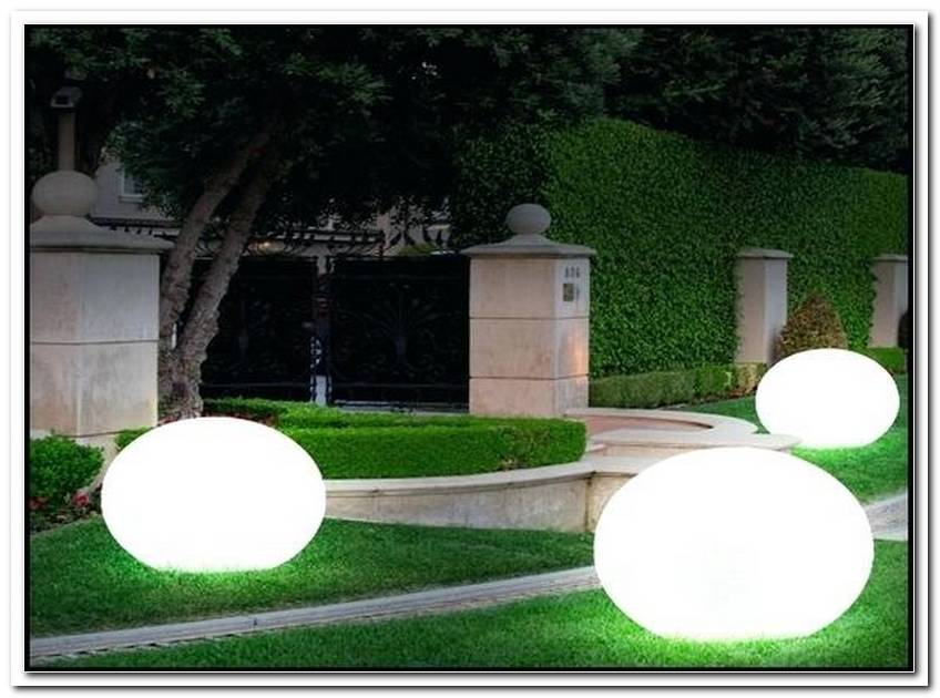 Kugelleuchte Garten Obi