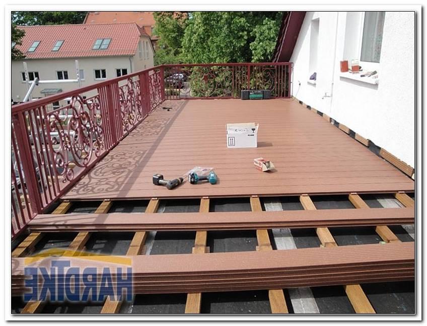 Kunstholz Dielen Terrasse