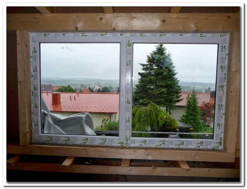Kunstoff Fenster Einbauen