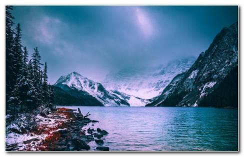 Lake Canada HD Wallpaper